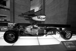 Silver arrows: 1999 McLaren-Mercedes MP4-14 Formula One racing car