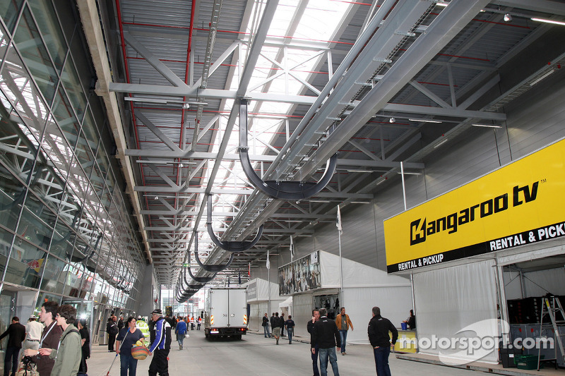 Fan area, New development and facilities around the Nurburgring