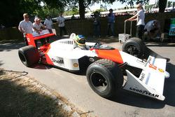 Bruno Senna, McLaren Honda MP4/4 1988