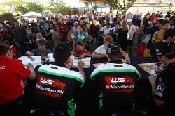 Fabian Coulthard and Michael Patrizi, Wilson Security Racing