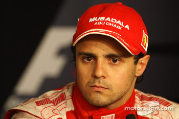 FIA press conference: third place Felipe Massa, Scuderia Ferrari