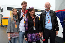 Dr. Dieter Zetsche, Chairman of Daimler and family