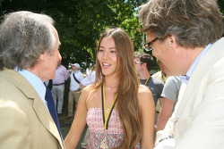 Jackie Stewart, Jessica Michibata, Lord March
