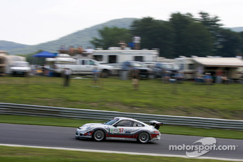#57 Snow Racing Porsche 911 GT3 Cup: Martin Snow, Melanie Snow