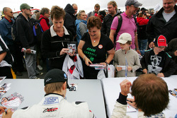 The F2 drivers autograph session