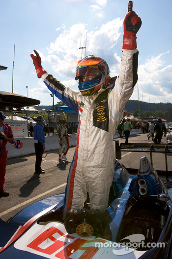 P1 and overall winner Simon Pagenaud celebrates