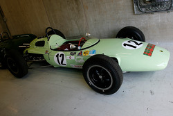 A non-starter, UDT Laystall (BRP) Lotus 24, 1500cc; as driven by Innes Ireland and Masten Gregory in 1962