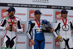 Superbike Podium, Mat Mladin, Josh Hayes, Aaron Yates