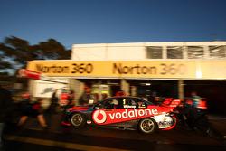 Team Vodafone pit stop practice