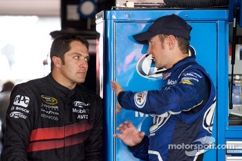 David Stremme, Penske Racing Dodge and Kurt Busch, Penske Racing Dodge