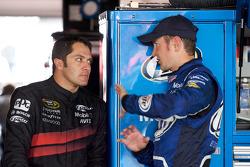 David Stremme, Penske Racing Dodge and Kurt Busch, Penske Racing Dodge
