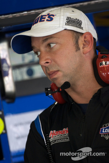 Chad Knaus, crew chief for Jimmie Johnson, Hendrick Motorsports Chevrolet