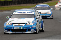 Mat Jackson leads Jason Plato and Rob Collard