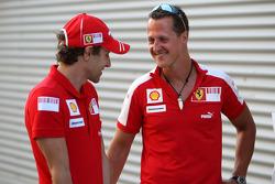 Luca Badoer, Scuderia Ferrari, Michael Schumacher, Test Driver, Scuderia Ferrari