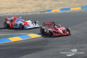 Dario Franchitti, Target Chip Ganassi Racing, Ryan Briscoe, Team Penske