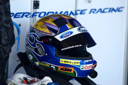 Helmet of Steven Richards, Ford Performance Racing
