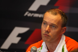 Simon Roberts, Force India F1 Team