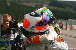 Rubens Barrichello, Brawn GP and Giancarlo Fisichella, Force India F1 Team