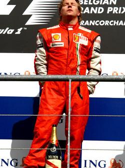 Winner, 1st, Kimi Raikkonen, Scuderia Ferrari