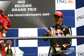 3rd, Sebastian Vettel, Red Bull Racing
