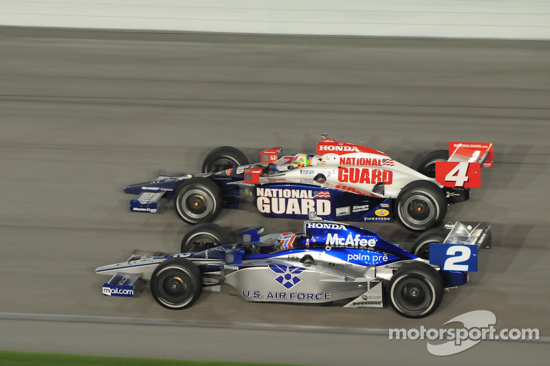 Dan Wheldon, Panther Racing and Rapheal Matos, Luzco Dragon Racing