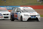 Tom Chilton leads Rob Collard
