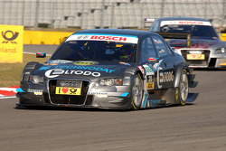 Tomas Kostka, Kolles TME Audi A4 DTM leads Martin Tomczyk, Audi Sport Team Abt Audi A4 DTM