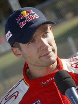 Provisional winner and final second Sébastien Loeb