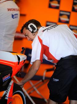 Repsol Honda Team pitbox