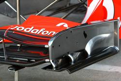 McLaren Mercedes, Front wing detail