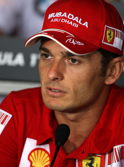 FIA press conference: Giancarlo Fisichella, Scuderia Ferrari