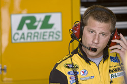 Drew Blickensderfer, crew chief for the No. 17 DeWalt Ford