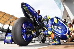 Michelin MotoGP tire test