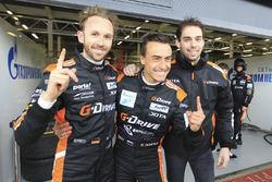 Polesitter LMP2 Roman Rusinov, Nathanael Berthon, René Rast, G-Drive Racing