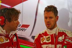 Sebastian Vettel, Ferrari with Antti Kontsas, Personal Trainer