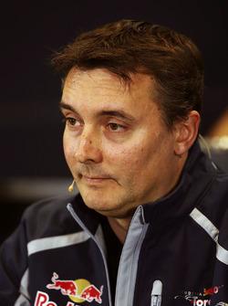 James Key, Scuderia Toro Rosso Technical Director in the press conference