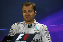Press conference: winner Nico Rosberg, Mercedes AMG F1 Team