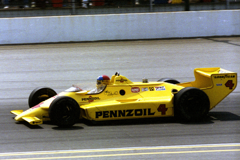 1980: Johnny Rutherford und