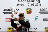 Formula 4 Photos - Podium: Winner Joseph Mawson, Van Amersfoort Racing