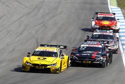 Timo Glock, BMW Team RMG, BMW M4 DTM; Daniel Juncadella (ESP) Mercedes-AMG Team HWA, Mercedes-AMG C63 DTM; António Félix da Costa, BMW Team Schnitzer, BMW M4 DTM; Augusto Farfus, BMW Team MTEK, BMW M4 DTM