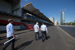 FIA delegate Baku City Circuit inspection