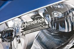 Hendrick Motorsports Chevrolet car detail