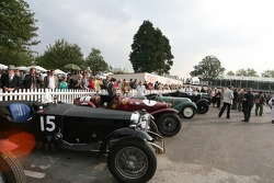 Brooklands Trophy Collecting Area