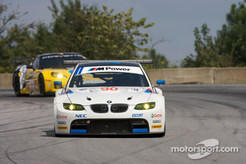 #90 BMW Rahal Letterman Racing Team BMW E92 M3: Bill Auberlen, Joey Hand, Andy Priaulx