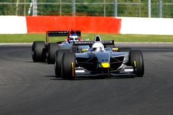 #23 Carlos Antunes Tavares Dallara Nissan; #12 Klass Zwart F1 Benetton B197 Judd