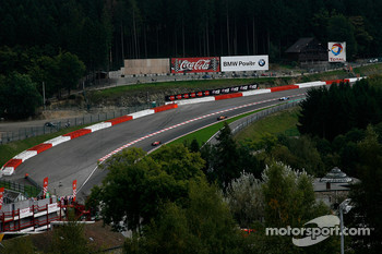 The up-hill at Eau Rouge