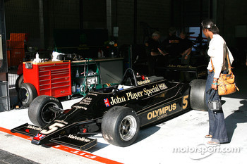 #5 Chris Locke's Lotus 79