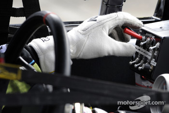 Hand of Carl Edwards, Roush Fenway Racing Ford