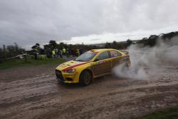 Mark Tapper and Jeff Judd, Pirelli Star Driver Mitsubishi Evo X