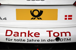 Rear of the car of Tom Kristensen, Audi Sport Team Abt Audi A4 DTM